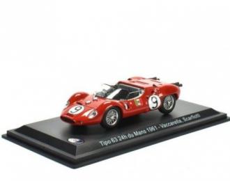 MASERATI Tipo 63 #9 24h Le Mans Vaccarella/Scarfiotti 1961