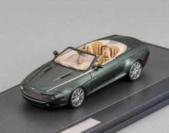 ASTON MARTIN DB9 Spider Zagato Centennial (2013), metallic green