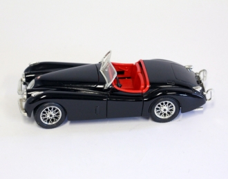 JAGUAR XK120 Roadster (1948), black / red