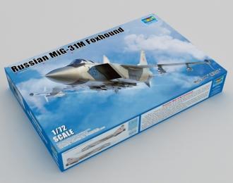 Сборная модель Советский истребитель-перехватчик Миг-31М (НАТО - Foxhound)