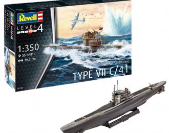 Сборная модель Немецкая подводная лодка Тип VII C/41
