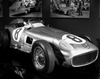Сборная модель MERCEDES-BENZ RW 196 (Fangio 1954)