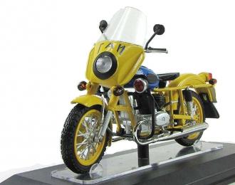 Мотоцикл ИМЗ-8.923 УРАЛ Патруль ГАИ, желтый