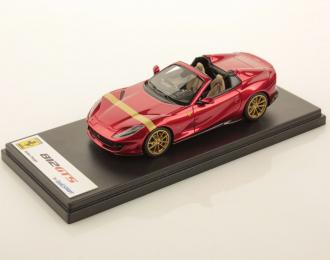 Ferrari 812 GTS (Rosso Fuoco with Gold Livery)