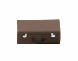 Чемодан (вариант 1, окрашенный темно-коричневый), цена за шт.