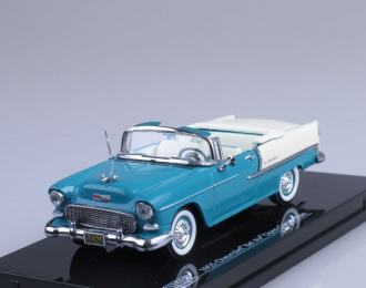 CHEVROLET Bel Air Convertible (1955), turquoise