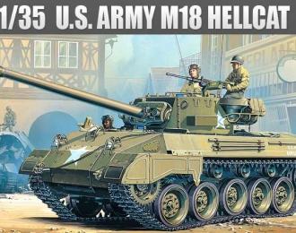 Сборная модель САУ M18 Hellcat