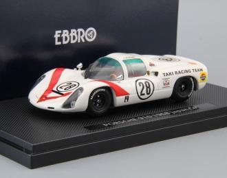 PORSCHE 910 Japan GP #28 (1968), white