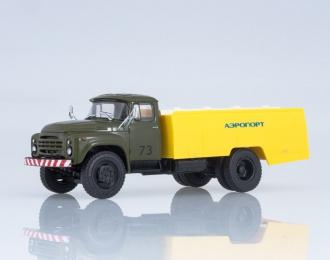 Автомобиль специальный АС-161 (130), хаки / желтый