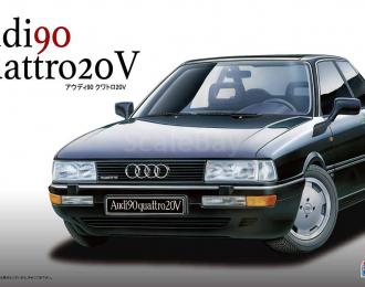 Сборная модель Audi Quattro 20V