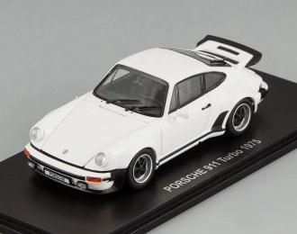 PORSCHE 911 Turbo (1975), white