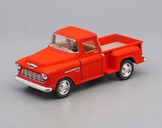 CHEVROLET Stepside Pick-up (1955), matte red
