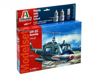 Сборная модель UH-1C GUNSHIP (подарочный набор)