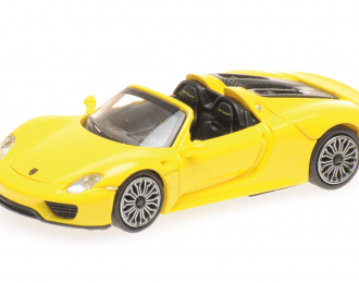PORSCHE 918 SPYDER 2013 YELLOW