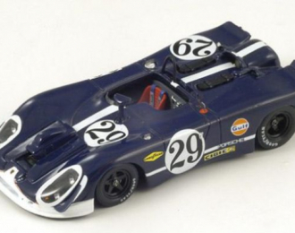 PORSCHE 908/2 #29 LM (1970), dark blue