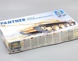 Сборная модель Panther AUSF.D Panzerkampfwagen V
