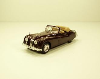JAGUAR XK 140, Суперкары 4, brown