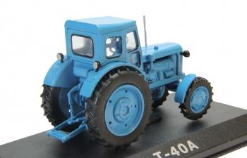 Т-40А, Тракторы 25, голубой