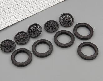 Резина, диски для Горький А, компл. из 5 колёс
