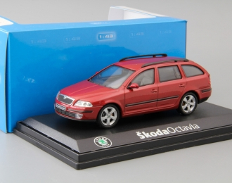 SKODA Octavia Combi (2005), red flamenco metallic