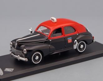 PEUGEOT 203 Taxi (1954), red / black