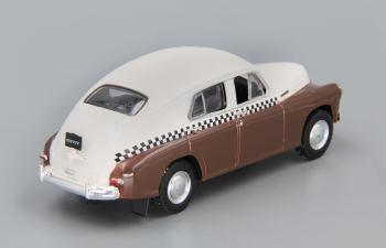 Горький М20 такси, Автомобиль на службе 5, бежево-коричневый