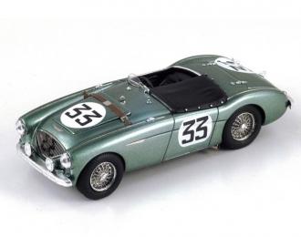 Austin-Healey 100 #33 14th LM 1953