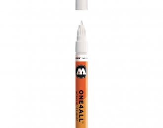Маркер MOLOTOW 127HS-EF ONE4ALL 160 Белый 1мм