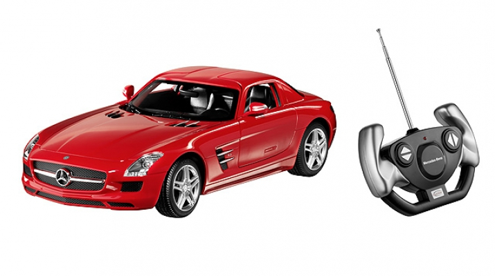 MERCEDES-BENZ SLS AMG Coupe C197, red