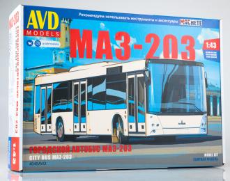 Сборная модель МАЗ-203