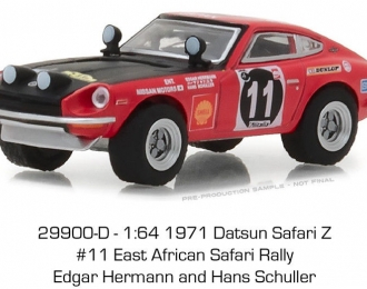 DATSUN 240Z #11 East African Safari Rally 1971