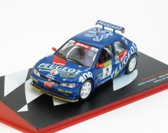 PEUGEOT 306 Maxi Jaime Azcona - Julius Billmaier (1997), blue