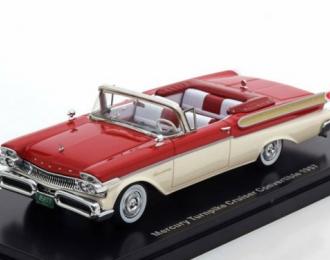 MERCURY Turnpike Cruiser Convertible 1957 Red/White