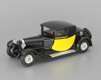 BUGATTI Type 44 (1927), Models of Yesterday, black / yellow