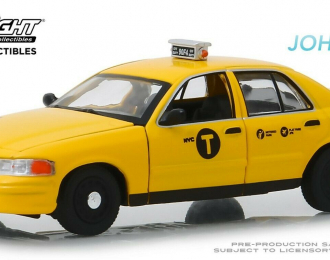"FORD Crow Victoria ""NYC Taxi"" (такси Нью-Йорка) 2008 (из к/ф ""Джон Уик II"")"