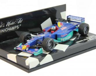 BMW Sauber Petronas C18 Red Bull J. Alesi (1999), blue