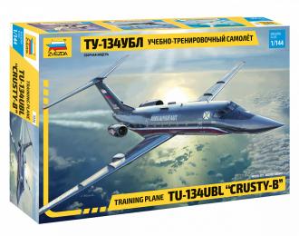 Сборная модель Учебно-тренировочный самолет Ту-134 УБЛ