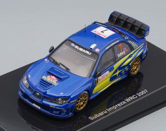 SUBARU Impreza WRC No7 Rally Monte-Carlo Peter Solberg (2007), blue
