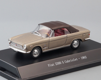 FIAT 2300 S Cabriolet (1962), brown metallic
