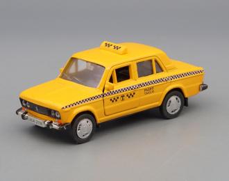 ВАЗ 2106 такси, желтый