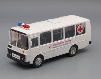 Павловский автобус 32053 мед. служба, белый