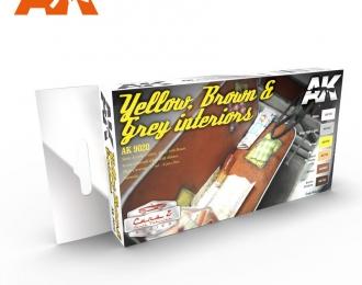 YELLOW, BROWN & GREY INTERIORS (Желтые, коричневые и серый интерьеры)