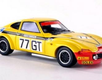 OPEL GT Gr.4 77 Steinmetz 1000km Nürburgring W.Christmann - J.Ragnotti, yellow