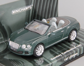 BENTLEY Continental GTC (2011), green