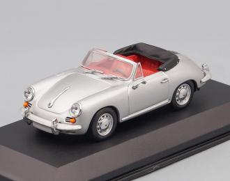 PORSCHE 356 C Cabriolet (1965), silver