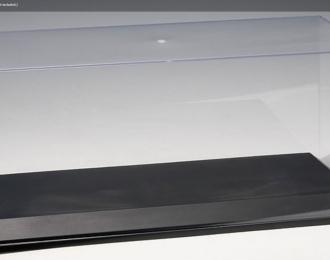 Бокс для модели в масштабе 1:18 (35.5 x 14.6 x 15.5 см), прозрачный