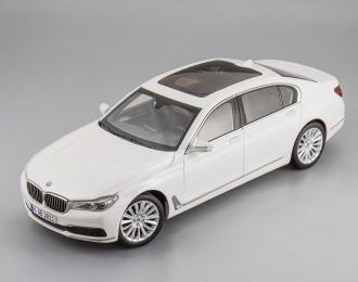 BMW 750 Li G12 (2016), mineral white