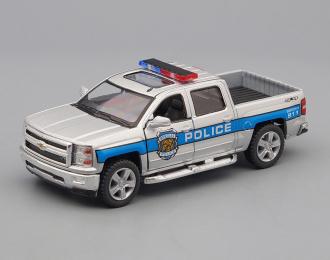 CHEVROLET Silverado Police (2014), silver