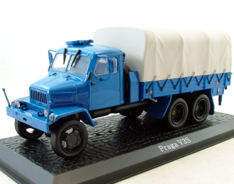 PRAGA V3S, Серия грузовиков от Atlas Verlag, синий