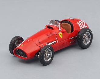 FERRARI 500 F2 #102 German GP Nurburgring Alberto Ascari (1952), red